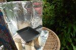 夏休みの自由研究は100均で!自作ソーラークッカーで太陽光クッキングに挑戦!