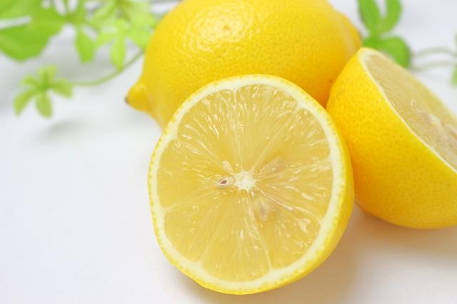 レモンで酢リンス