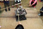 【簡単・時短・節約】焚き火でパンが焼ける!?鉄板でチャパティも!冬のアウトドアレシピ