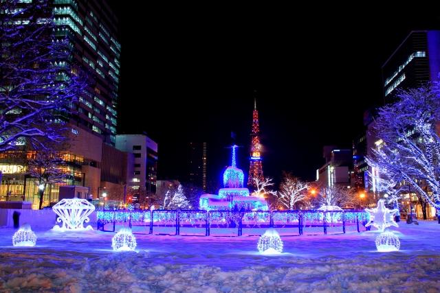 札幌のイルミネーション