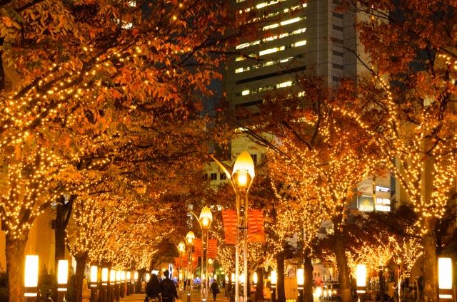 神戸のイルミネーション